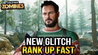 Black Ops Cold War Zombies ☆ New Airplane Glitch! Level Up Fast (Updated)