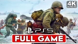 CALL OF DUTY WW2 PS5 Gameplay Walkthrough Part 1 Campaign FULL GAME [4K 60FPS] – No Commentary