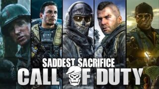 THE MOST SADDEST/HEROIC SACRIFICES MOMENTS in Call of Duty [ Modern Warfare – Black Ops Cold War ]