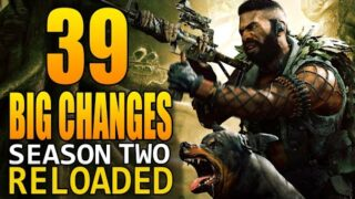 Black Ops Cold War: 39 Big Changes In The Season 2 Reloaded Update! (Update 1.14)