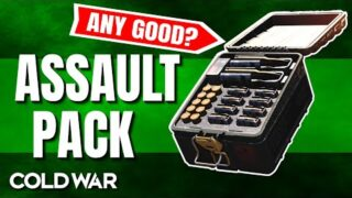 How The Assault Pack Field Upgrade Works in Black Ops Cold War – Call of Duty Equipment Breakdown