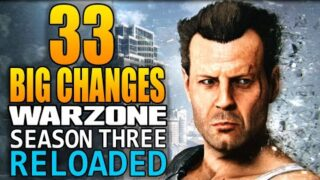 Call of Duty Warzone: 33 Big Changes In The Season 3 Reloaded Update! (Update 1.37)