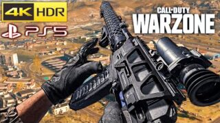 Call of Duty Warzone Solo (AS Val & MP5) Gameplay 4K Playstation 5 [No Commentary]