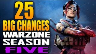 Call of Duty Warzone: 25 Big Changes in The Season 5 Update! (Update 1.40)