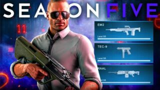 These Are The NEW WEAPONS in WARZONE SEASON 5 (Cold War Warzone Season 5 Update)