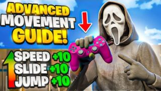 How to IMPROVE YOUR MOVEMENT for ADVANCED & BEGINNER PLAYERS🔥😱  (Console/PC/Controller)